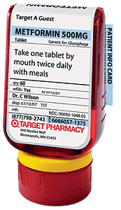 Target ClearRx Package