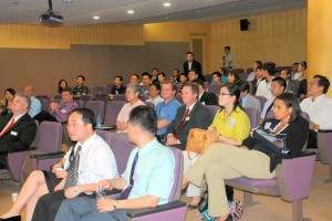 Customers in the AGY Shanghai Auditorium