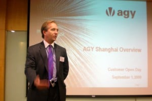 Jeffrey J Davis Giving A Customer Welcome Presentation
